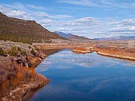 Colorado - Green River / Swinging Bridge