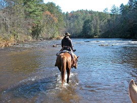 Fording - Chattooga River SC